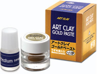 product art clay gold paste